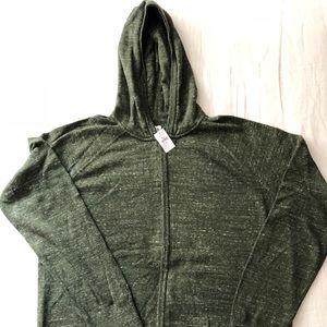 Gap green knit sweater sweatshirt NWT